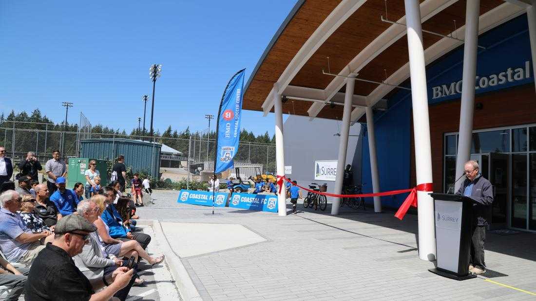 BMO Coastal Soccer Centre Grand Opening