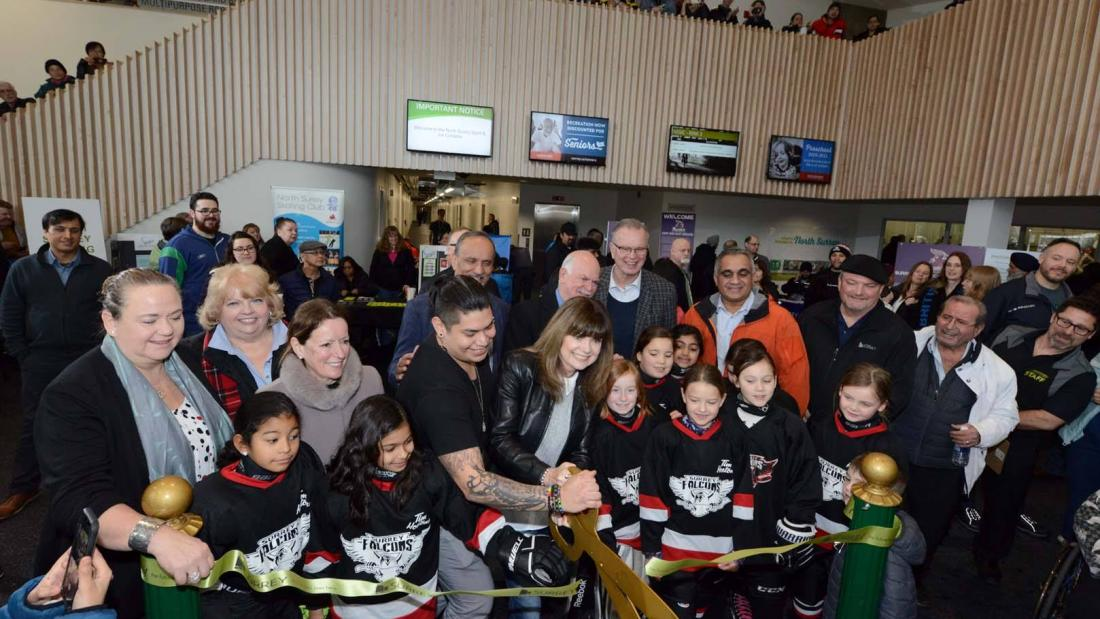 North Surrey Sport Ice Complex Grand Opening
