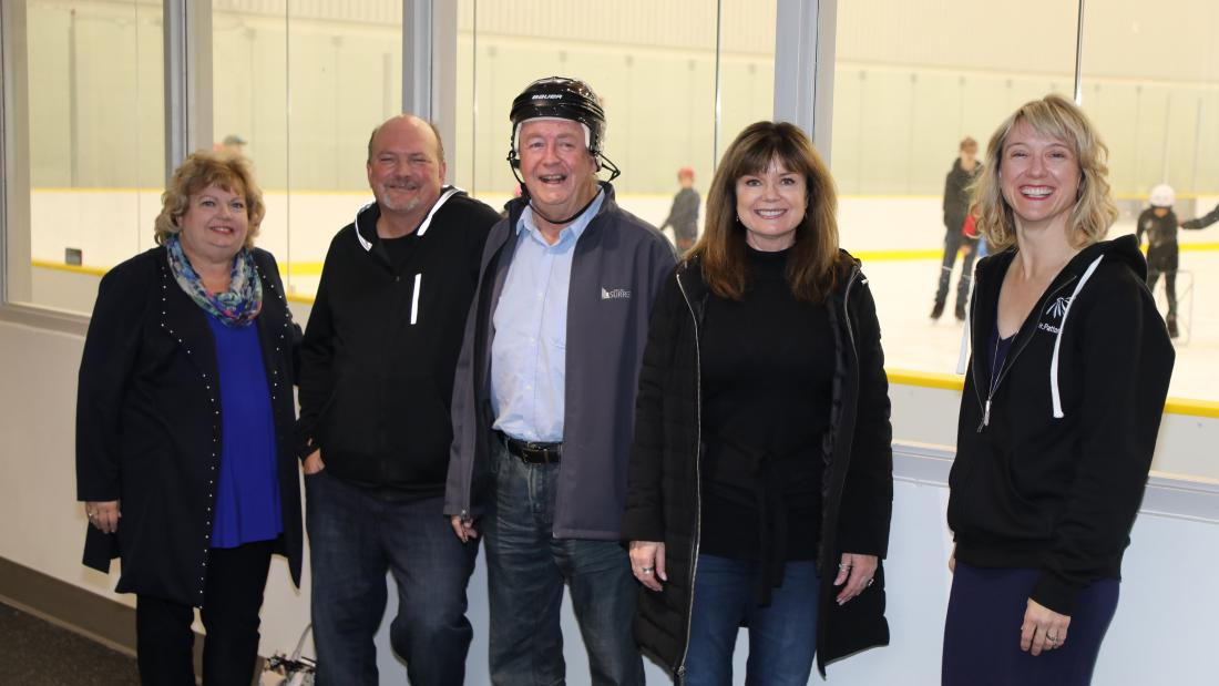 North Surrey Sport Ice Complex Soft Opening
