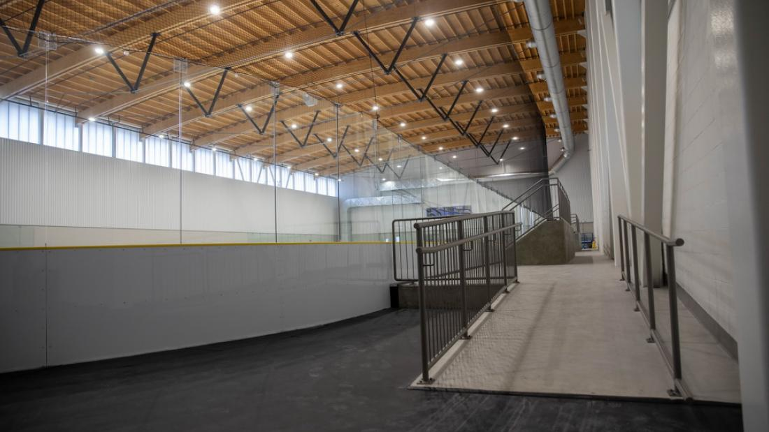 North Surrey Sport and Ice Complex Assessible Feature