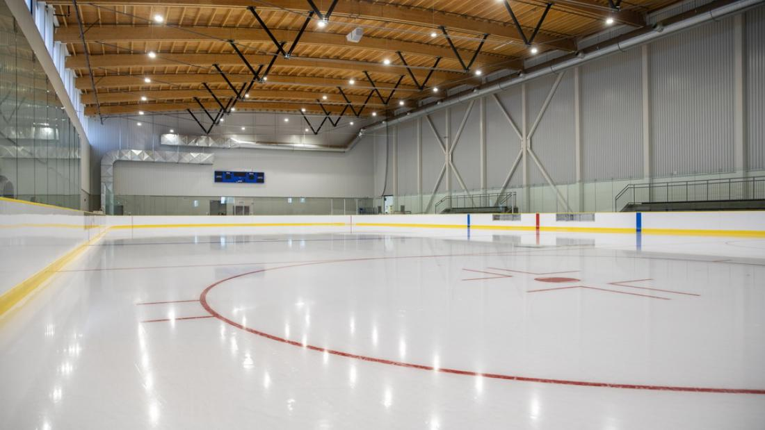 North Surrey Sport and Ice Complex Ice Rink with Roof
