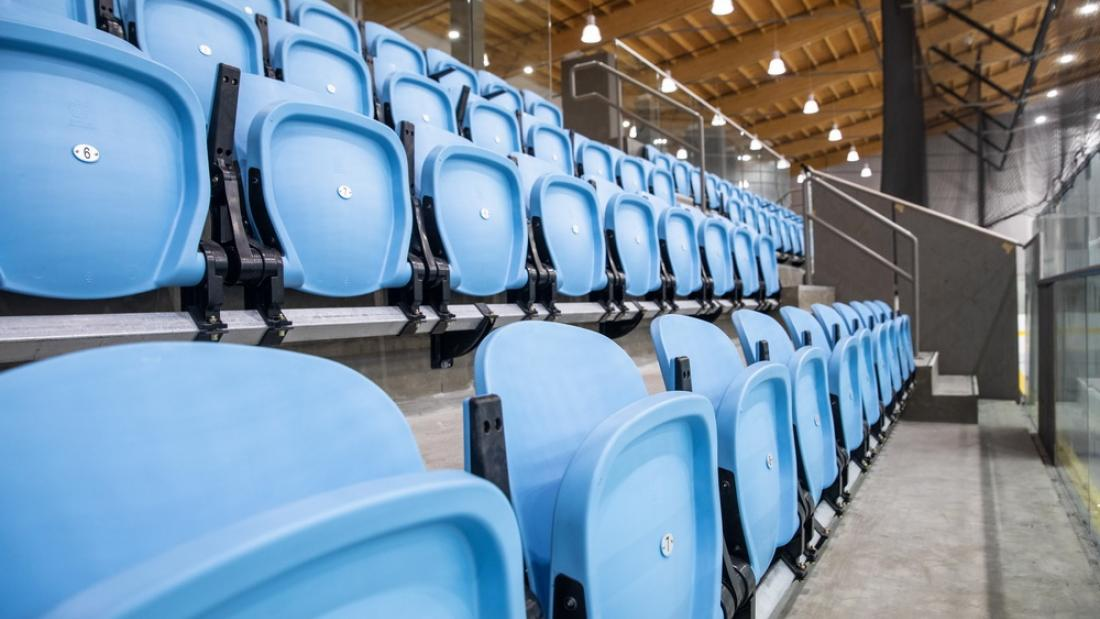 North Surrey Sport and Ice Complex Spectator Seats