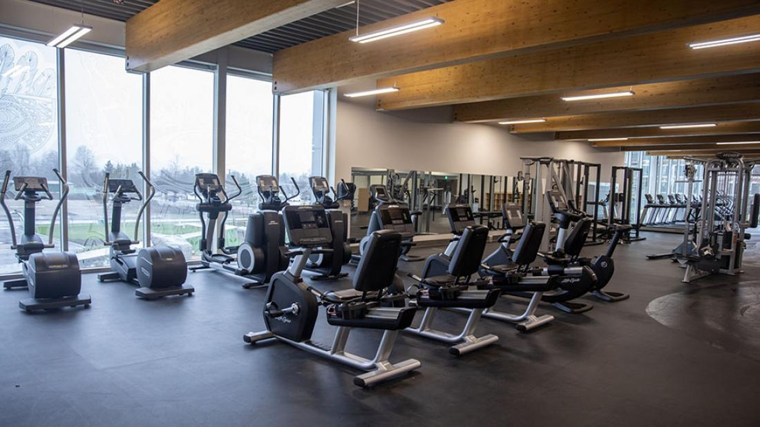 North Surrey Sport and Ice Complex Fitness Space