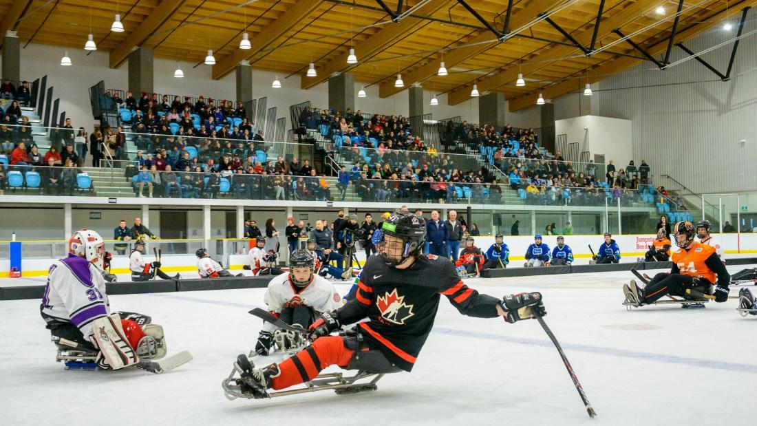 Para-Hockey Game During WickFest
