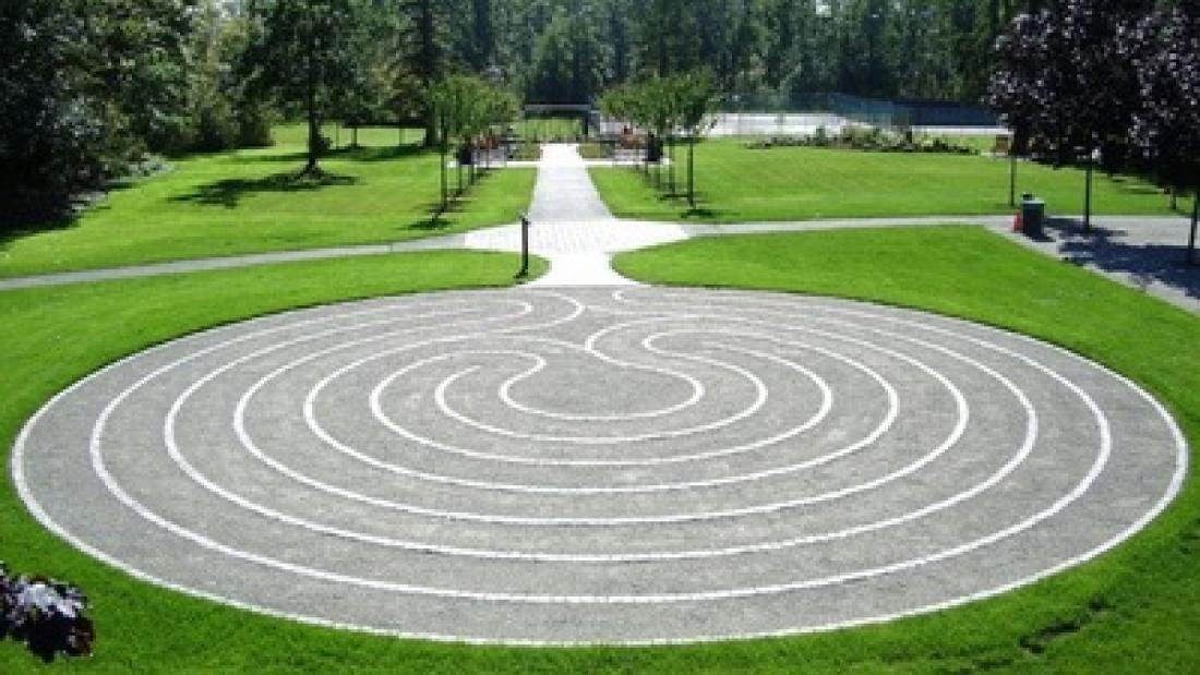 Labyrinth at Fleetwood Gardens