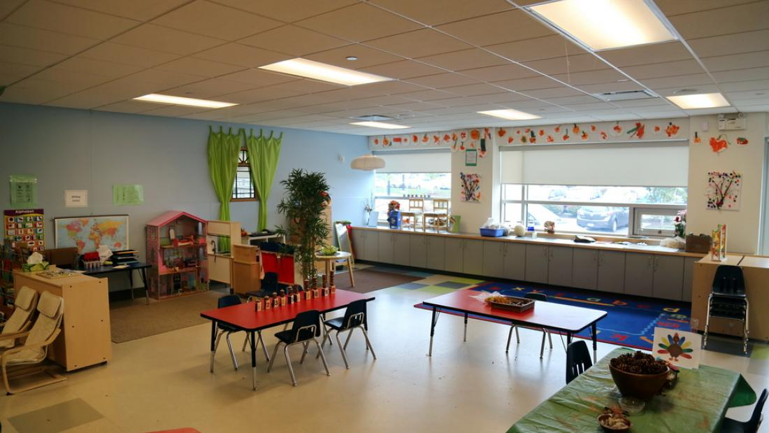 Child Care Room at Cloverdale Recreation Centre