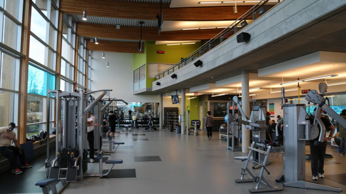 Fitness Room in Cloverdale Recreation Centre