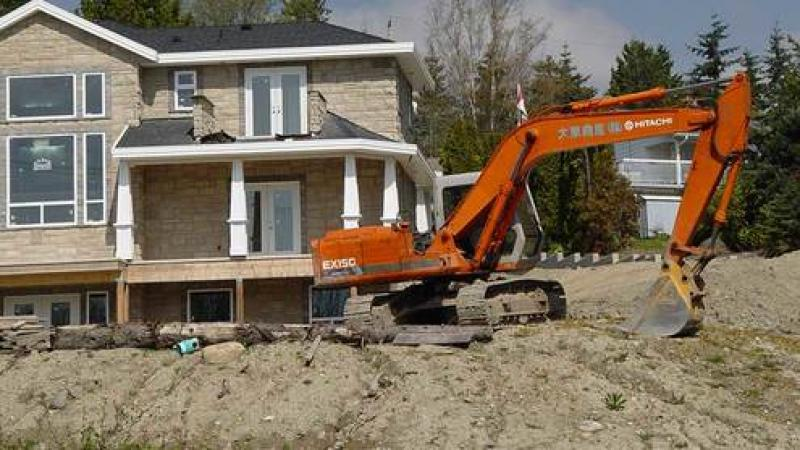 Demolish & Rebuild a House in Surrey