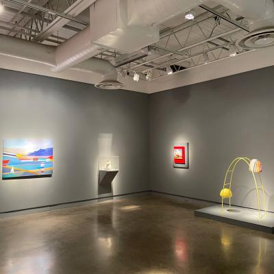 Installation view of Delineations