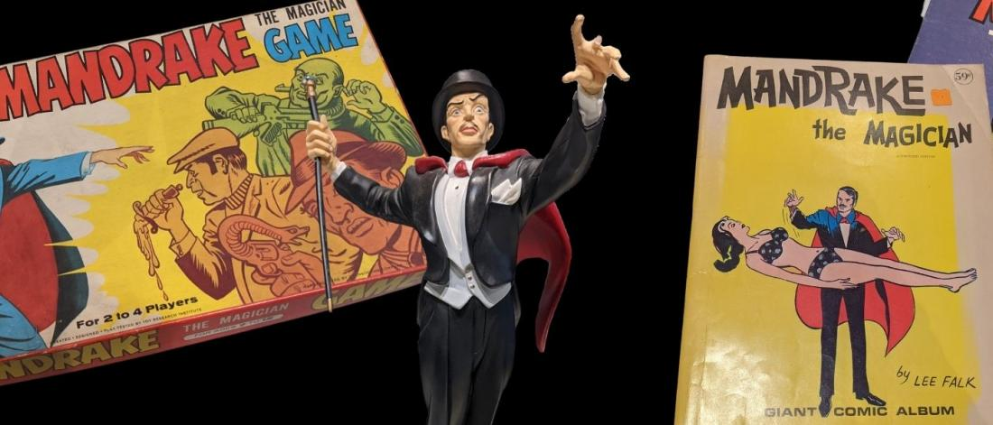 Mandrake the Magician Exhibit Artifacts