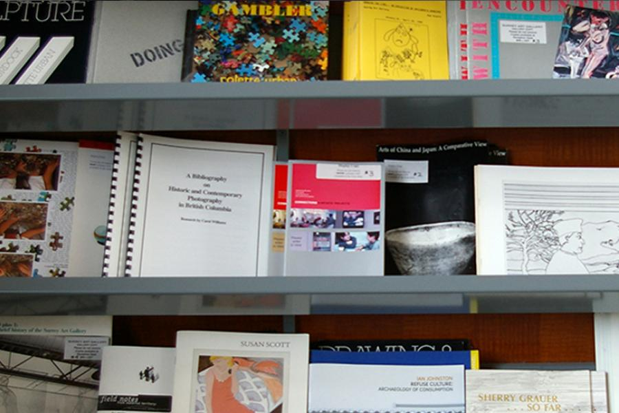 Publications on the shelves
