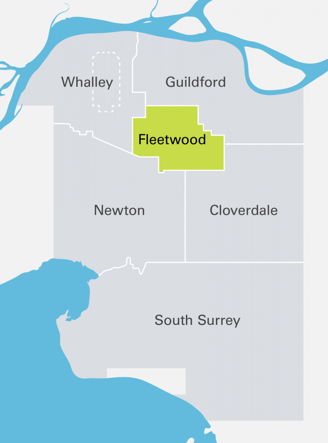 Fleetwood Highlighted Community Maps