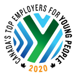 Canada's Top Employer for Young People 2020 Logo